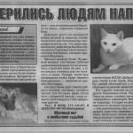 О нас в газете «Вечерний Могилев»